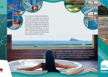 Folleto Salud y Wellness Benidorm
