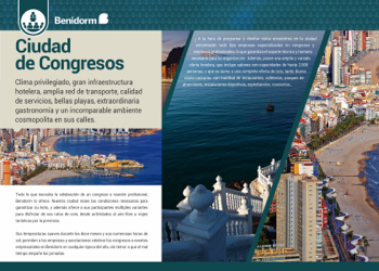Folletos Congresos Benidorm