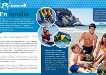Folleto Familias Benidorm