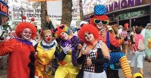 Benidorm British Fancy Dress Party 2021