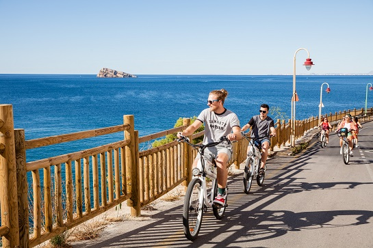 Tao Bike Guided Routes on Benidorm and Surroundings
