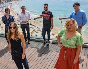 Secun de la Rosa, y el elenco de actores han destacado las vivencias del rodaje de 'El Cover' en Benidorm